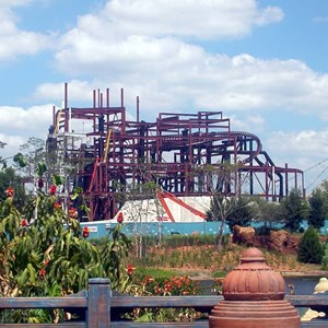 1 of 5: Expedition Everest - Expedition Everest construction