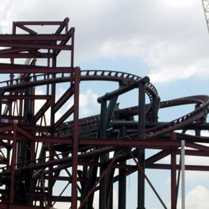 4 of 6: Expedition Everest - Expedition Everest construction