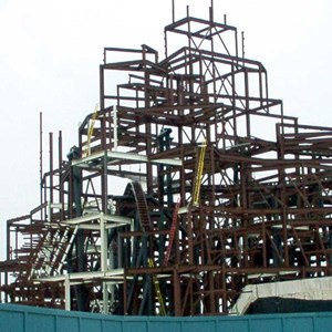 3 of 6: Expedition Everest - Expedition Everest construction