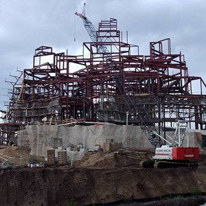 1 of 1: Expedition Everest - Expedition Everest construction