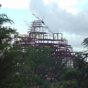 1 of 2: Expedition Everest - Expedition Everest construction
