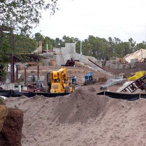 4 of 5: Expedition Everest - Expedition Everest construction