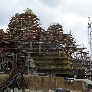 6 of 8: Expedition Everest - Expedition Everest construction