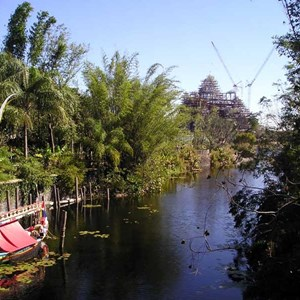 1 of 7: Expedition Everest - Expedition Everest construction