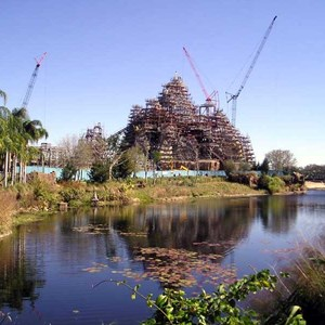 2 of 7: Expedition Everest - Expedition Everest construction