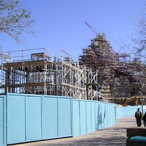3 of 7: Expedition Everest - Expedition Everest construction