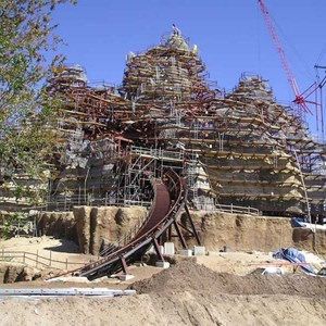 6 of 7: Expedition Everest - Expedition Everest construction