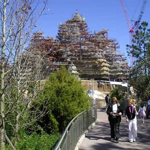 7 of 7: Expedition Everest - Expedition Everest construction