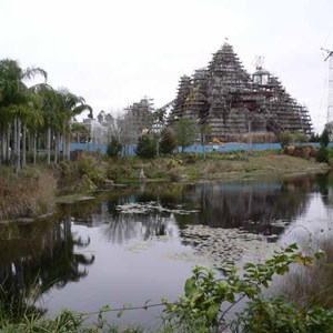 1 of 12: Expedition Everest - Expedition Everest construction