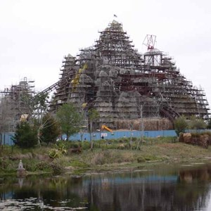 2 of 12: Expedition Everest - Expedition Everest construction
