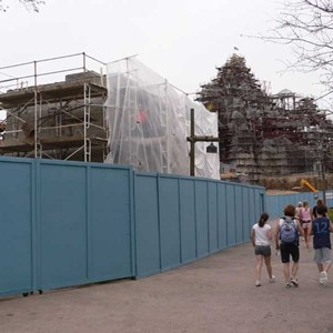 3 of 12: Expedition Everest - Expedition Everest construction