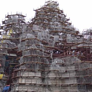 10 of 12: Expedition Everest - Expedition Everest construction