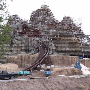 11 of 12: Expedition Everest - Expedition Everest construction