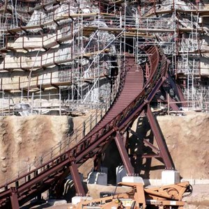 1 of 22: Expedition Everest - Expedition Everest construction