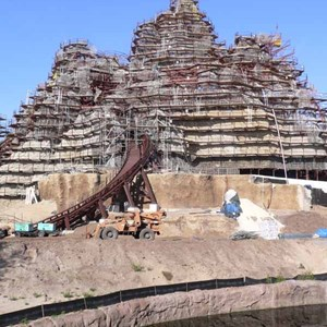 7 of 22: Expedition Everest - Expedition Everest construction