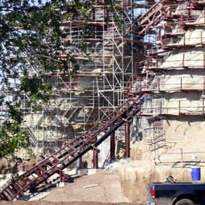 8 of 22: Expedition Everest - Expedition Everest construction