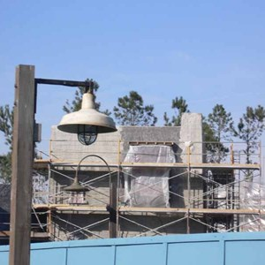 9 of 22: Expedition Everest - Expedition Everest construction