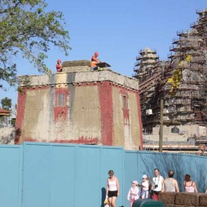 17 of 22: Expedition Everest - Expedition Everest construction