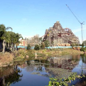 18 of 22: Expedition Everest - Expedition Everest construction