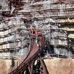 19 of 22: Expedition Everest - Expedition Everest construction