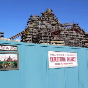 22 of 22: Expedition Everest - Expedition Everest construction