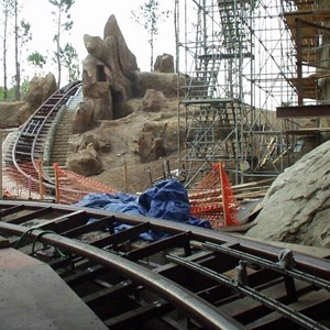 2 of 12: Expedition Everest - Expedition Everest construction - interior