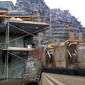 4 of 22: Expedition Everest - Expedition Everest construction tour