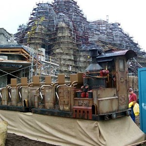 8 of 22: Expedition Everest - Expedition Everest construction tour