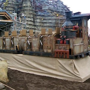 9 of 22: Expedition Everest - Expedition Everest construction tour
