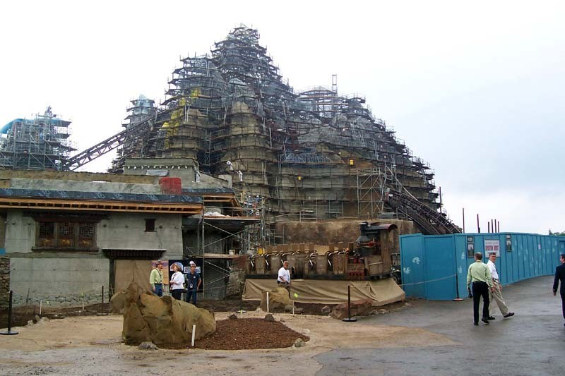 Expedition Everest construction tour