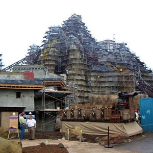 13 of 22: Expedition Everest - Expedition Everest construction tour