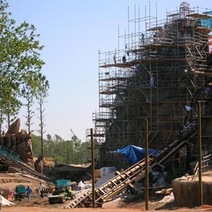 5 of 5: Expedition Everest - Expedition Everest construction