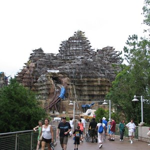 1 of 6: Expedition Everest - Expedition Everest construction