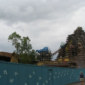 5 of 6: Expedition Everest - Expedition Everest construction