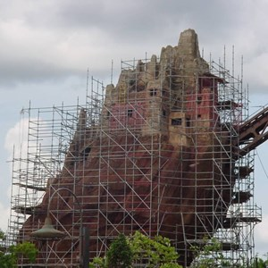 2 of 2: Expedition Everest - Expedition Everest construction