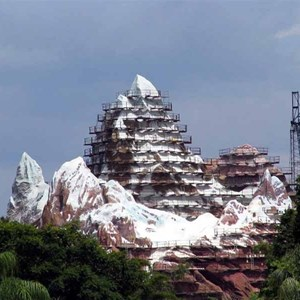 4 of 16: Expedition Everest - Expedition Everest construction