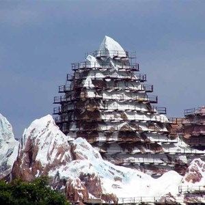 5 of 16: Expedition Everest - Expedition Everest construction