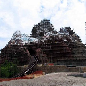 7 of 16: Expedition Everest - Expedition Everest construction