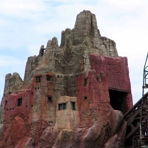 8 of 16: Expedition Everest - Expedition Everest construction