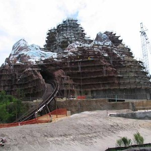 12 of 16: Expedition Everest - Expedition Everest construction