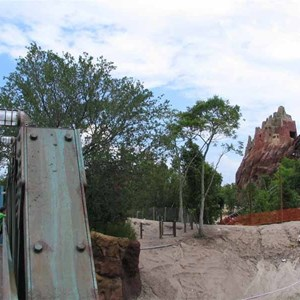 13 of 16: Expedition Everest - Expedition Everest construction