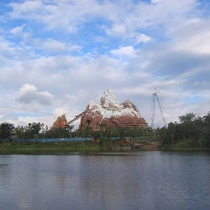 6 of 6: Expedition Everest - Expedition Everest construction