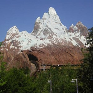 3 of 3: Expedition Everest - Expedition Everest construction