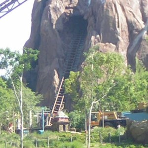 3 of 4: Expedition Everest - Expedition Everest construction