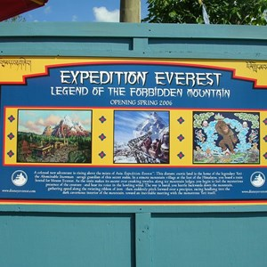 1 of 9: Expedition Everest - Expedition Everest construction