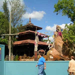 2 of 9: Expedition Everest - Expedition Everest construction