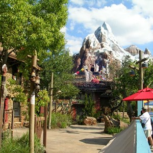 3 of 9: Expedition Everest - Expedition Everest construction