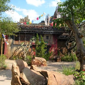 5 of 9: Expedition Everest - Expedition Everest construction