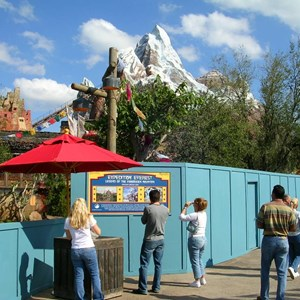7 of 9: Expedition Everest - Expedition Everest construction