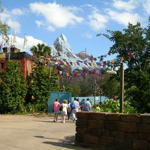 9 of 9: Expedition Everest - Expedition Everest construction